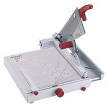 Rexel Skärmaskin, ClassicCut™ CL710 Guillotine, A4+, konstruktion helt i metall, 50 ark, 290 x 436 x 650mm, grå och röd