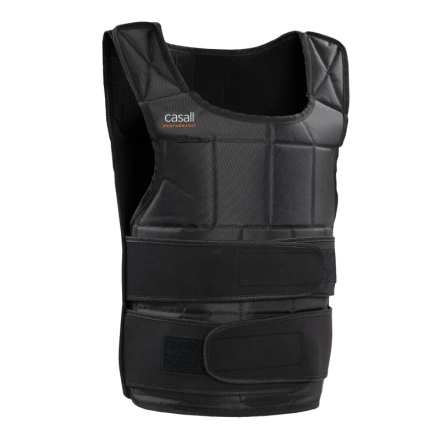 Casall Prf Weight Vest 10kg Unisex träningsredskap Sort OneSize
