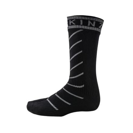 Sealskinz Super Thin Pro Mid Sock Hydro Unisex Träningsstrumpor Svart L