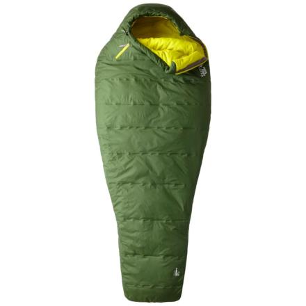 Mountain Hardwear Lamina Z Flame Long Sleeping Bag Sovsäck Grön LEFTZIP