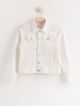 Valkoinen farkkutakki