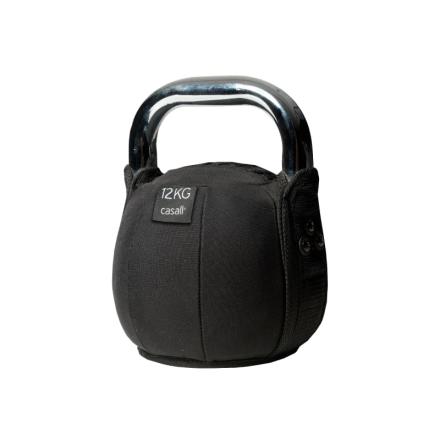 Casall Kettlebell Soft 12kg träningsredskap Svart OneSize