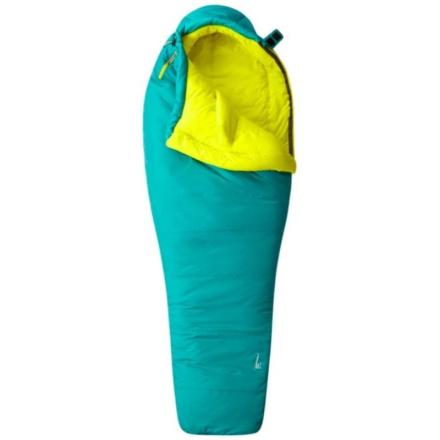 Mountain Hardwear Laminina Z Flame Sleeping Bag Long Sovsäck Grön LEFTZIP