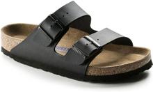 Birkenstock Arizona Birko-Flor Soft Footbed Regular Unisex Sandaler Svart 45