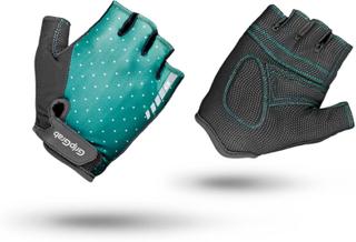 GripGrab Women's Rouleur Padded Short Finger Glove Dame treningshansker Grønn XS