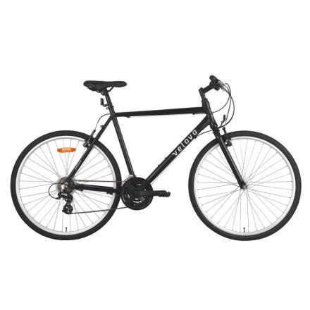 Velova Kattegatt Men's Hybridcykel Svart 53 cm
