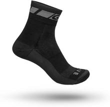 GripGrab Merino Regular Cut Sock Unisex Träningsstrumpor Svart 41-44