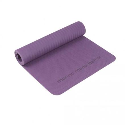 Super.natural Yoga Mat träningsredskap Lila OneSize