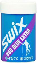 Swix V40 Blue Extra Hardwax -1/-7C, skismøring OneSize