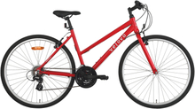 Velova Women's Kattegatt Dam Hybridcykel Röd 50 cm
