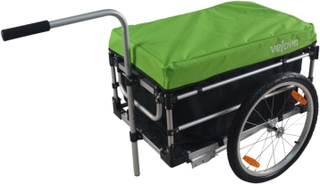 Velova Bike Trailer Cargo sykkel- & barnevogner Grønn OneSize