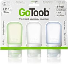 Humangear GoToob Small, 3-pack Toalettartikel Blå OneSize
