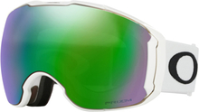 Oakley Airbrake XL Snow Goggles Herr polished white/prizm jade iridium & prizm sapphire iridium 2019 Skidglasögon & Goggles