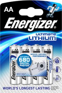Batteri AA Lithium 4-pack