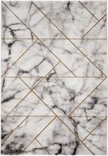 Maskinvävd matta - Craft Marble Guld - 200x290 cm