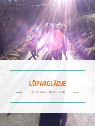 Löparglädje - Löpklass 10 veckor - Start 7/3-2017