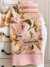 Handtuch ca. 50x100 cm Feiler rosé