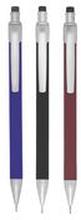 BALLOGRAF Stiftpenna Rondo Plus, 0,7 mm HB-stift, blandade färger på pennkroppen: Svart, vinröd, blåklintsblå och mörkgrå