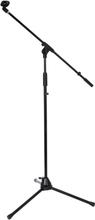 Ibiza mikrofonstativ med mikrofonhållare