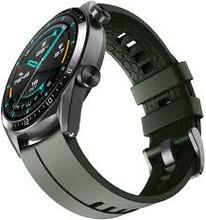 Watch GT 46mm Black Stainless Steel Dark Green Sort