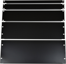 "19"" black Rack Panel 4 Unit"