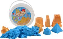 Burk med sand och formar (1 st, blandade färger)