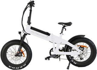 EAZbike®F08 - Elektrisk sammenleggbar fatbike sykkel - 500w