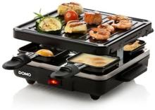 DOMO DO9147G Raclette-apparat 4 personer - Sort