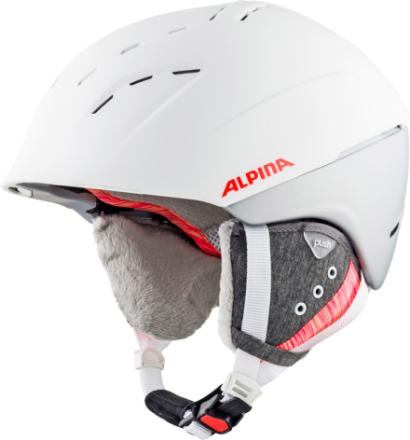 Alpina Spice Kypärä , valkoinen 55-59cm 2018 Laskettelukypärät