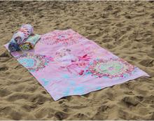 HIP Badlakan 5848-H Vilastre 100x180 cm flerfärgad
