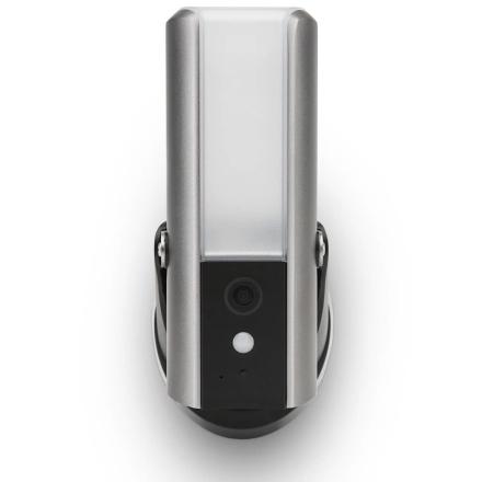 SecuFirst udendørs væglampe overvågningskamera grå LCA230
