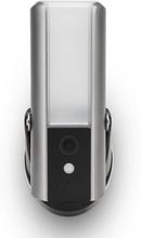 SecuFirst Utomhusvägglampa med övervakningskamera grå LCA230