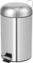 Perel Pedalhink rund 12 L silver HP100102