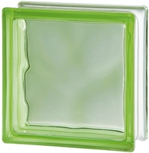 Glasbetong Glasblock Seves Basic Grön