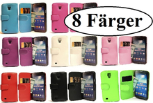 Plånboksfodral Samsung Galaxy S4 Active (i9295) (Hotpink)