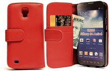Plånboksfodral Samsung Galaxy S4 Active (i9295) (Röd)