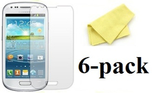 Samsung Galaxy S3 Mini skärmskydd 6 pack