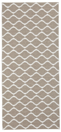 Horreds Teppe Plastic Wave Beige 70 x 150cm