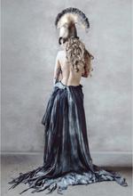 LUNA BLUE – the girl in a blue dress Poster