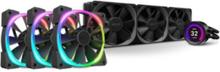 Kraken Z73 RGB (+ 3 x Aer RGB 2 120mm fans) CPU Køler - Vandkøling - Max 36 dBA