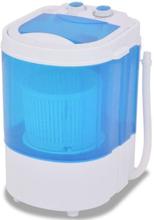 vidaXL mini vaskemaskine enkelttromle 2 6 kg