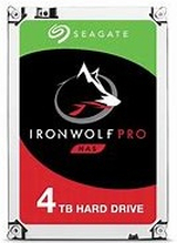 "Seagate 4TB Ironwolf Pro 3.5"" HDD SATA 3.0 7200RPM 128MB CacheIronWolf Pro is designed for everything business NAS. Get used to tough, ready, and scalable 24×7 performance that can handle multidrive environments across a wide range of capacities."