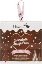 I Love... I Love… Mini Treat Box Chocolate Fudge Cake Box 150 ml