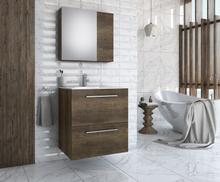 Möbelpaket Puro 60 - Barok-färgat med spegelskåp