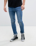 Religion Jeans in Super Skinny Stretch Fit - Blue