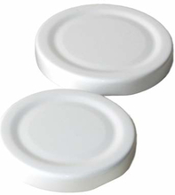 twist-off deksel 43 mm wit 100 stuks