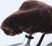 Willex Sadelöverdrag fårskinn brun
