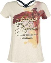 Harry Potter - Phoenix -T-skjorte - Melert kremfarget