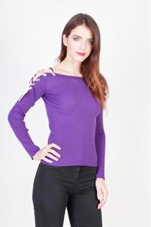 Pinko 1G12N7 Violet tröja-Y3LL kvinna höst/vinter Viola XS
