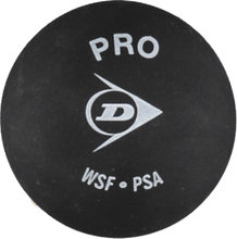 Dunlop Pro Xx Ball Squash BLACK/YELLOW